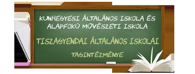 A Tiszagyendai Általános Iskola honlapja